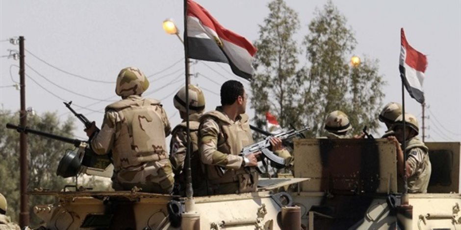 القوات المسلحة تقضى على 8 إرهابيين وتستهدف 7 بؤر إرهابية بشمال سيناء