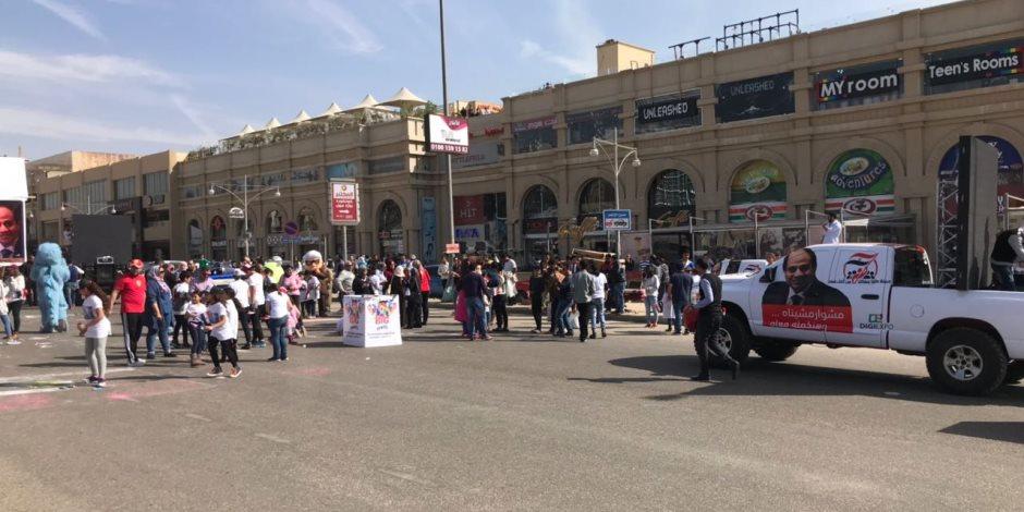 """""""كلنا معاك من أجل مصر"""" تقيم كرنفال الرسم من أجل أم الدنيا لدعم السيسي (صور)"""