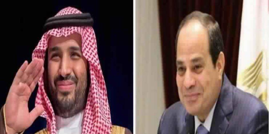 الأحد.. السيسي يستقبل الأمير محمد بن سلمان في زيارة تستمر لمدة ٣ ايّام