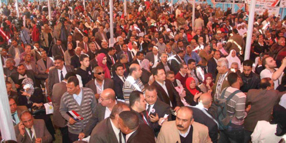 والدة أحد شهداء سيناء تدعو المواطنين إلى المشاركة في الانتخابات