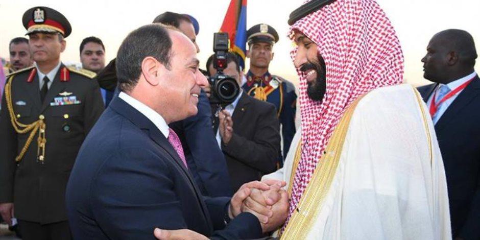 بعد قليل.. السيسي وولي العهد السعودي يتفقدان مشروعات قومية بالإسماعيلية
