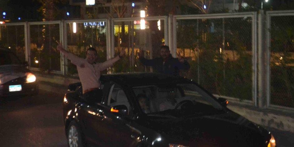 """ائتلاف """" يلا شباب """" بالبحر الأحمر ينظم مسيرة بالسيارات لدعم الرئيس السيسى بالغردقة  (  صور   )"""