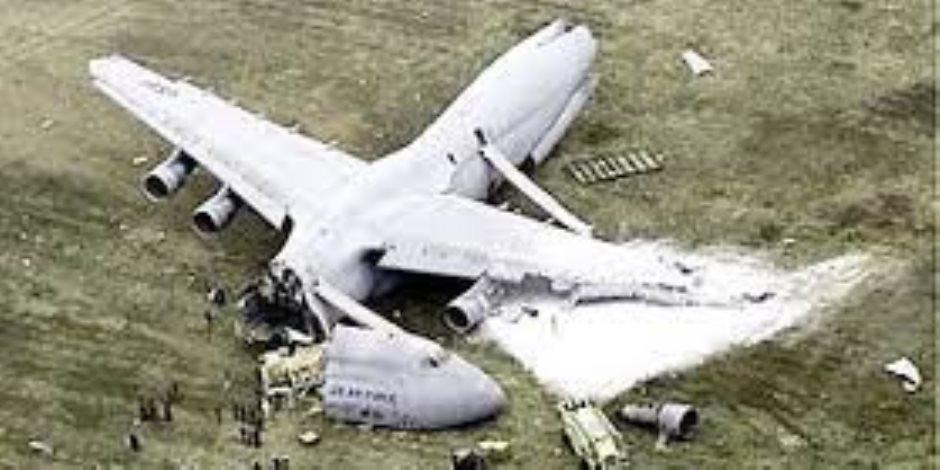 تلفزيون طهران: تحطم طائرة تركية خاصة غربي إيران