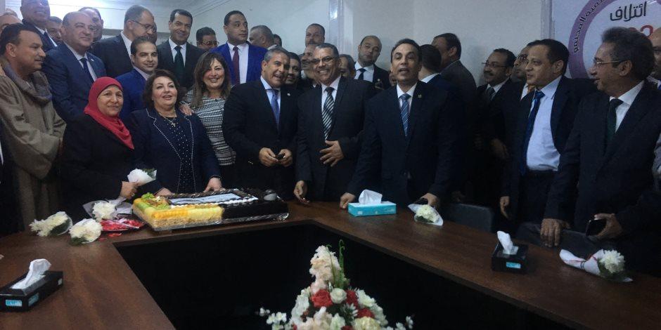 """افتتاح أول مقر لـ""""ائتلاف دعم مصر"""" بمحافظة أسيوط (صور)"""