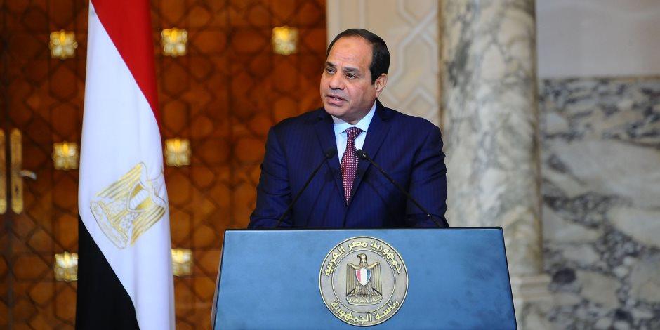 الرئيس السيسي يزور مقر وزارة الداخلية بالقاهرة