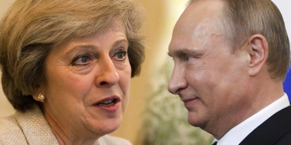 بشائر حل أزمة بريطانيا وروسيا تظهر.. لندن: مستعدون للتعاون.. وبوتين يرد: نود العمل معكم