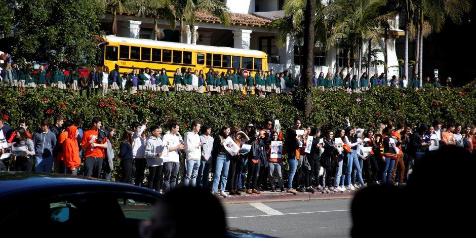مظاهرات حاشدة لطلاب المدارس الأمريكية للتنديد بحوادث إطلاق النار: كفى (صور)