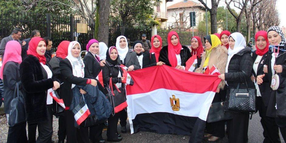 سيدات المنيا: مشاركتنا بالانتخابات حق وواجب.. ونحلم بترشح النساء لرئاسة الجمهورية