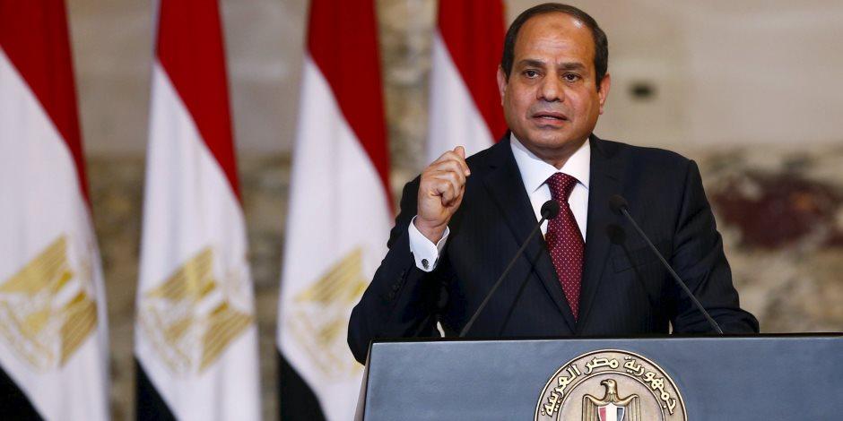 الرئيس السيسي يؤكد على دور مصانع الإنتاج الحربي في النهوض بالصناعة الوطنية
