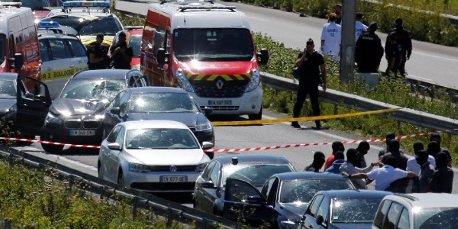 الشرطة الفرنسية تلقي القبض على منفذ حادث دهس الجنود صباح اليوم