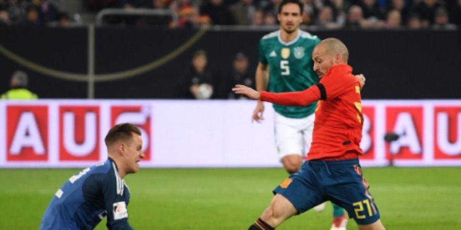 التعادل الإيجابي يحسم ودية ألمانيا وإسبانيا استعدادا للمونديال (فيديو)