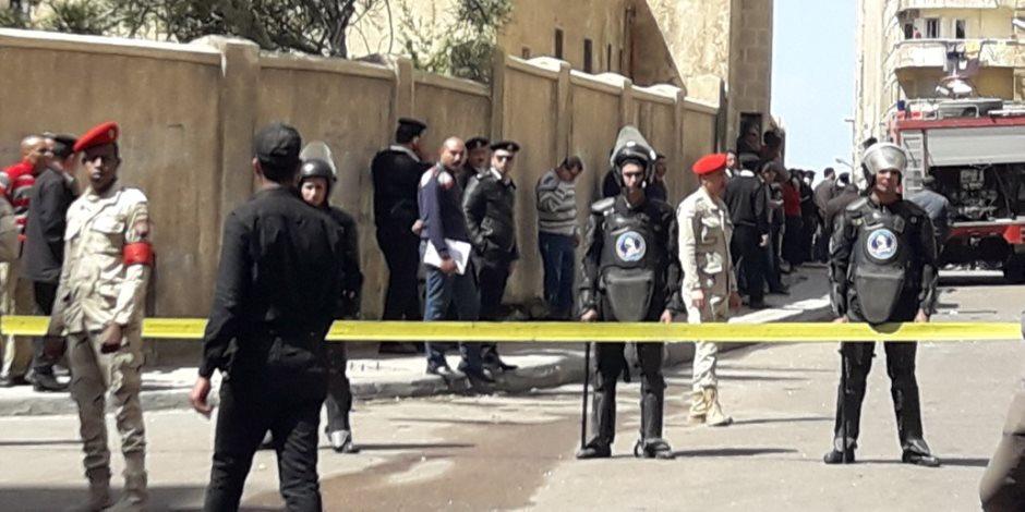 «صحة الإسكندرية»: 7 سيارات إسعاف بموقع الانفجار.. ورفع درجة الاستعداد للقصوى (صور)