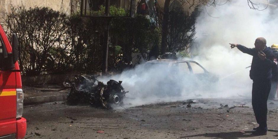الداخلية تكشف تفاصيل محاولة اغتيال مدير أمن الإسكندرية في انفجار المعسكر الروماني