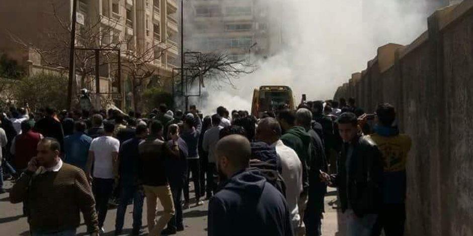 شاهد.. لحظة انفجار سيارة الإسكندرية المفخخة (فيديو)