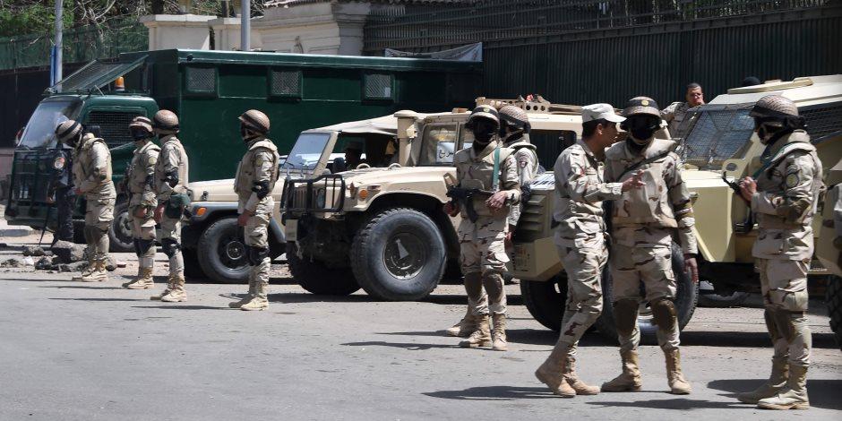 استمرار فعاليات النجم الساطع 2018 في قاعدة محمد نجيب.. تدريبات مشتركة على مكافحة الإرهاب