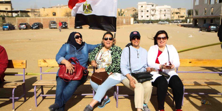 «هوانم مصر».. إقبال كثيف من سيدات المجتمع الراقي على اللجان (فيديو وصور)