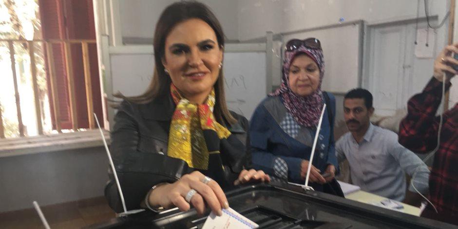 سحر نصر: شاركت مواطنة مصرية في الانتخابات الرئاسية