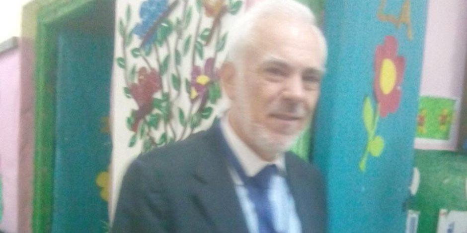 السفير اليوناني بالقاهرة يتفقد سير الانتخابات بـ «القومية المشتركة بالزمالك»