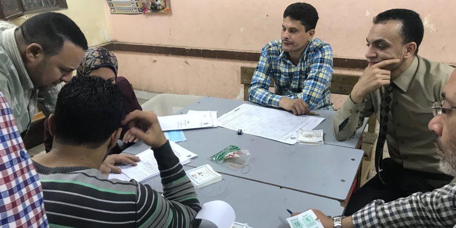 نتائج أولية لانتخابات الرئاسة 2018.. 5 لجان عامة بسوهاج:السيسي 257490 وموسى 6328