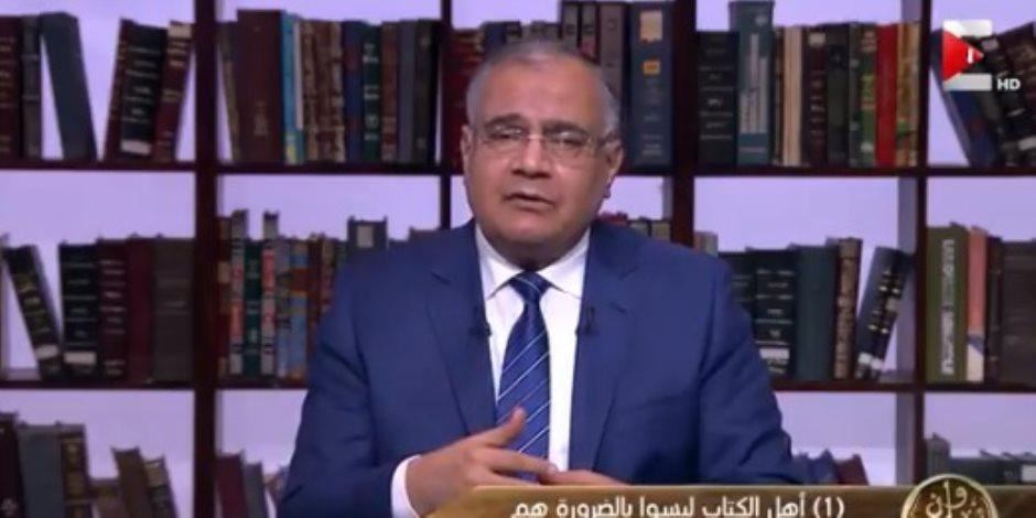 سعد الهلالى: يجوز فقها وصف أتباع الأنبياء السابقين بالمسلمين