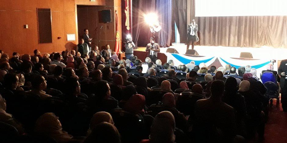 «أخلاقيات مهنة التدريس بين التطبيق والتغييب» في مؤتمر بجامعة بورسعيد (صور)