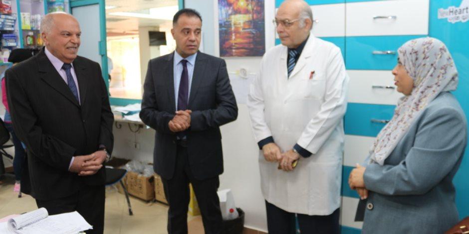 مستشفى المعلمين تستقبل وفدا من مؤسسة TQCSI تمهيدا لحصولها على الـISO