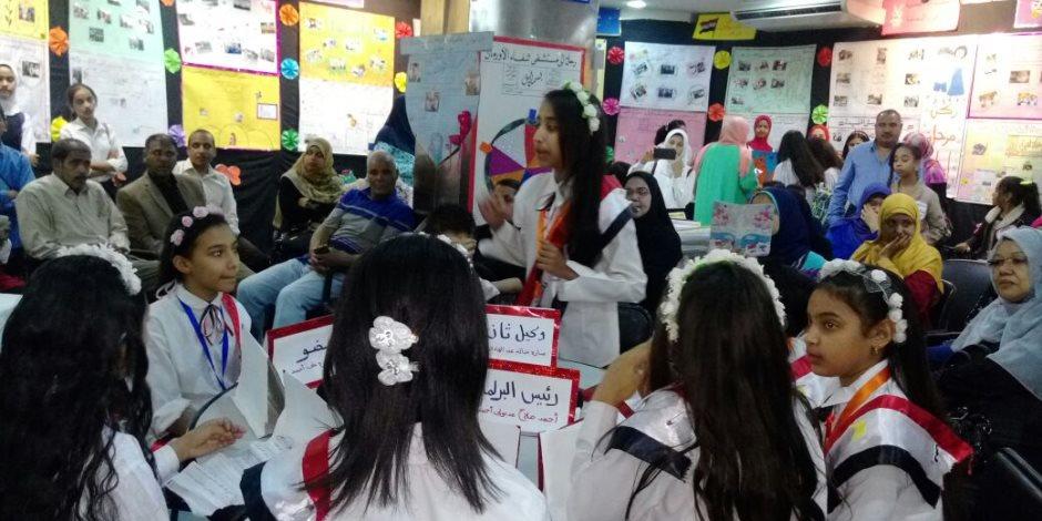 «تعليم الأقصر» تقيم معرضها السنوي للصحافة المدرسية بالكرنك (صور)