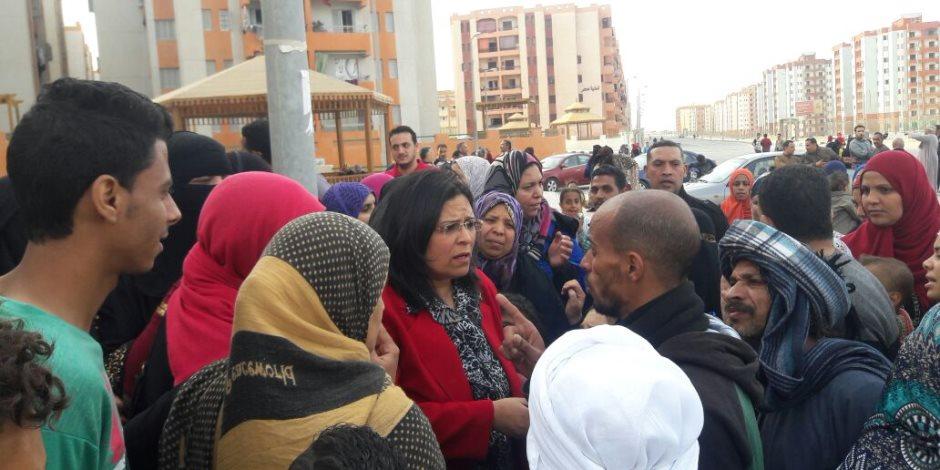 برلمانية بعد أزمة منطقة الأسمرات:  عرض المشكلة على مجلس الوزراء لوضع حل لها (صور)