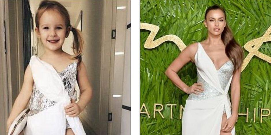 طفلة تركية تقلد أزياء مشاهير النجمات (صور)