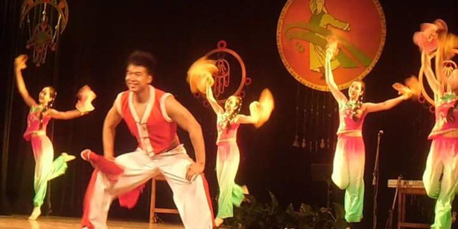 لياوينج للغناء والرقص تتألق في أوركسترا لياوينج القومى بمسرح أوبرا دمنهور (صور)