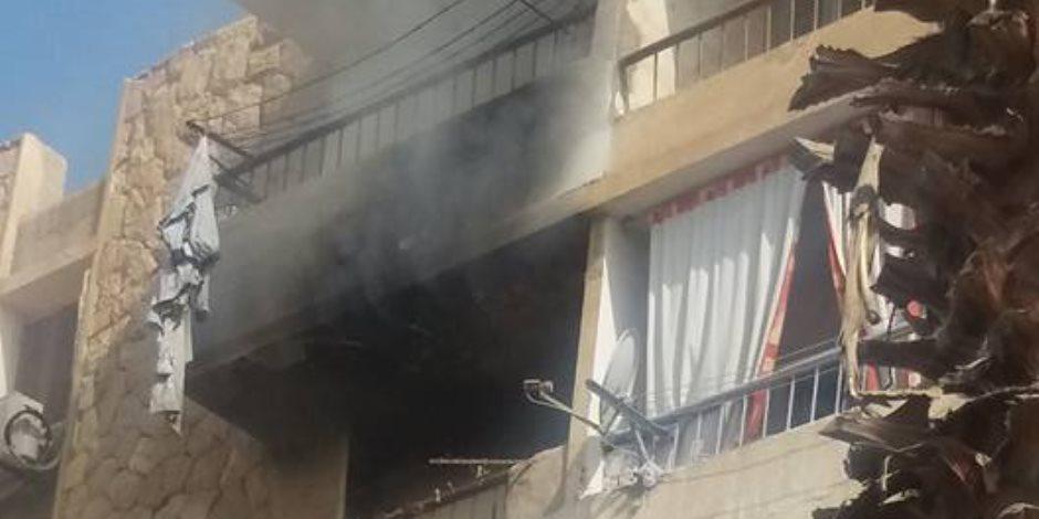السيطرة على حريق داخل شقة سكنية في المطرية دون اصابات