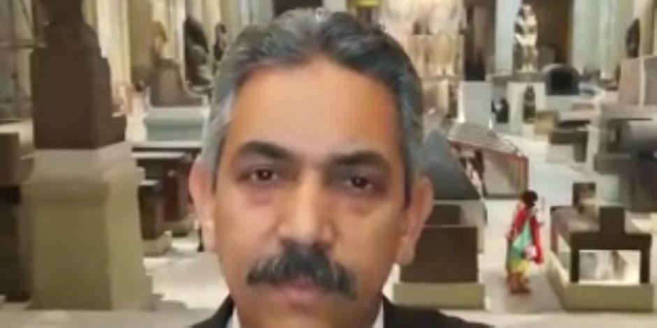مدير المتحف المصري: نمتلك 150 ألف قطعة آثرية من مختلف العصور
