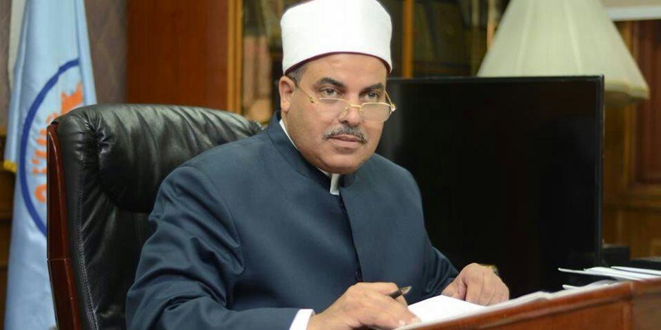 رئيس جامعة الأزهر يطالب بالاستفادة من «بنك المعرفة» في تشجيع البحث العلمي