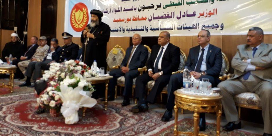 مطران بورسعيد: من دواعي سرورنا الاحتفال بعيد القيامة مع فوز الرئيس السيسي بفترة ثانية