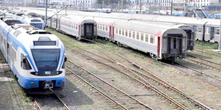 السكة الحديد تعلن معدل تأخيرات وصول القطارات على مستوى الجمهورية
