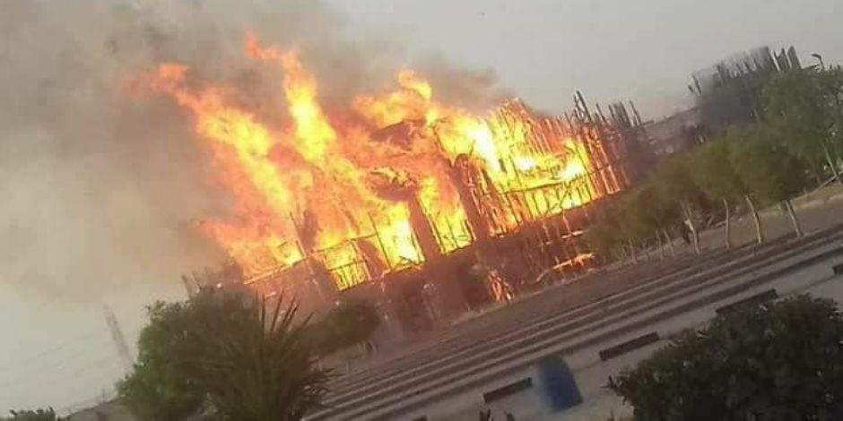 إصابة العشرات في حريق شب بمكب للنفايات بميانمار