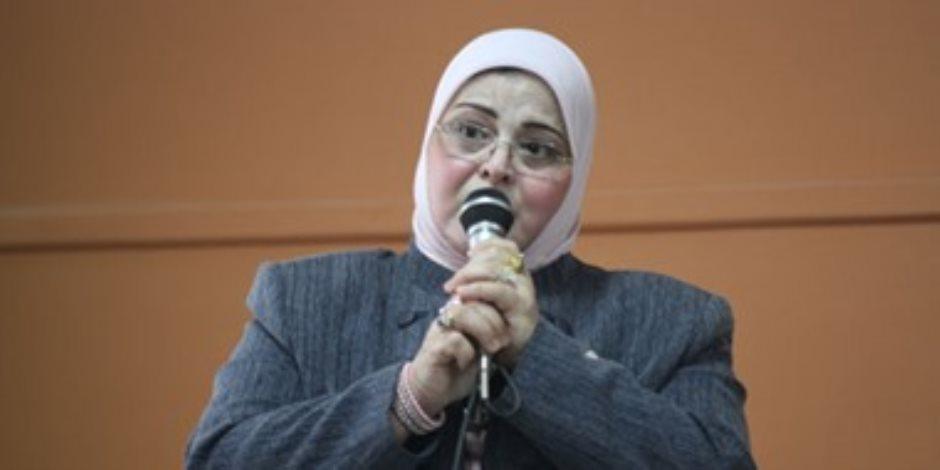 بثينة كشك وكيلًا لوزارة التربية والتعليم في كفر الشيخ