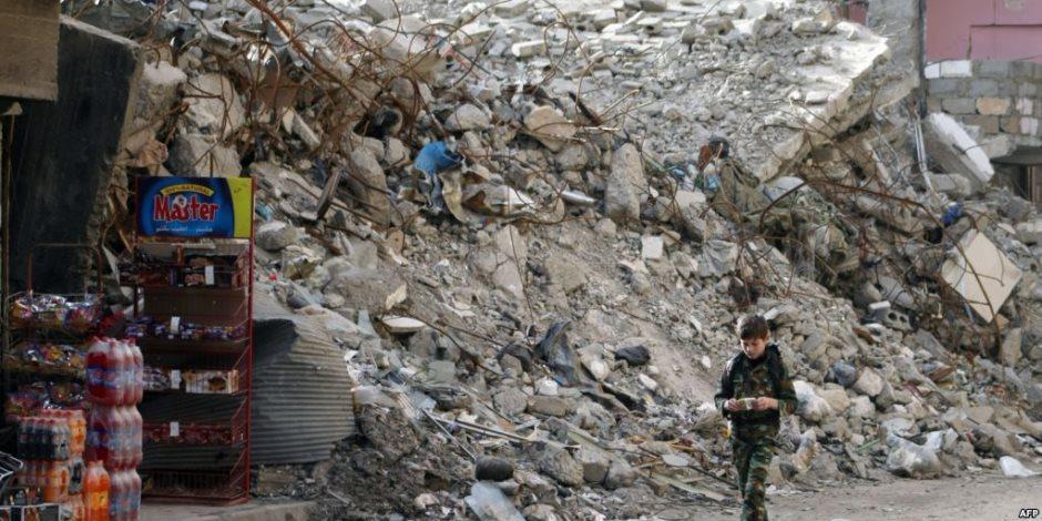 الجيش السوري يبدأ قصف جيب تسيطر عليه المعارضة قرب حمص