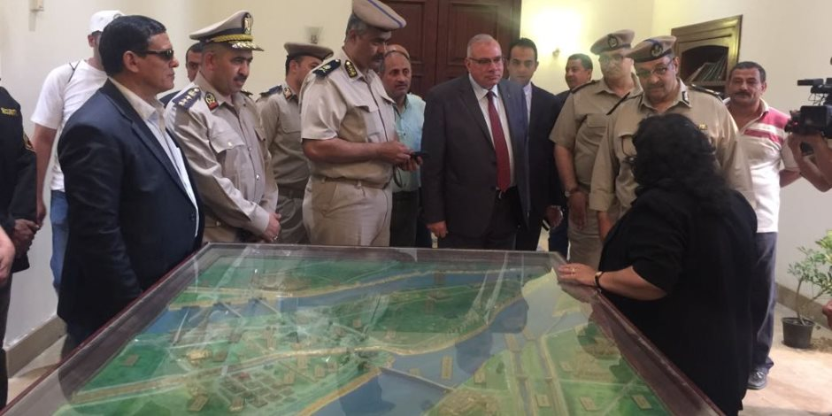 مدير أمن القليوبية يتفقد متحف الثورة بالقناطر الخيرية (صور)