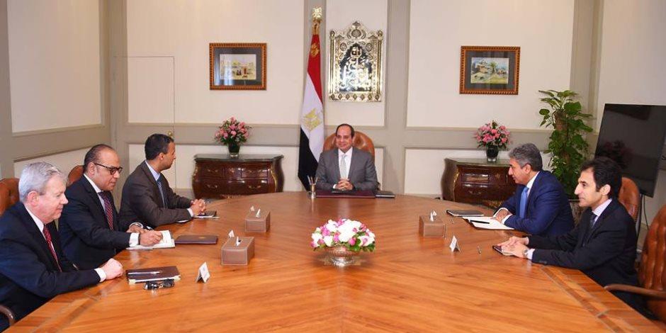 الرئيس السيسي يستعرض مع وزير الكهرباء كيفية الارتقاء بالمنظومة