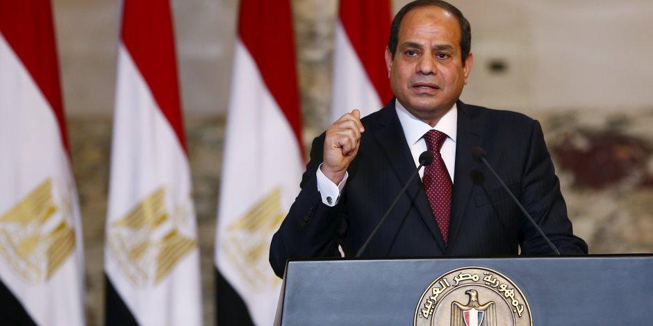 السيسي: الشعب المصري لا يفرط في أرضه وقادر على حمايتها حرباً وسلاماً