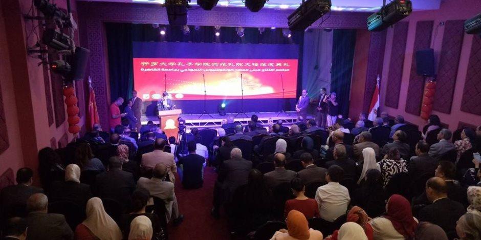 رئيس جامعة بكين: الحكومة الصينية أعطت الثقة الكاملة لمعهد كونفشيوس بالقاهرة
