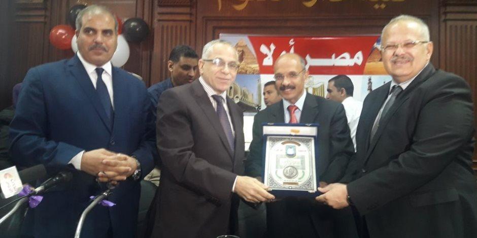جامعة القاهرة تكرم المحرصاوي وسلمان