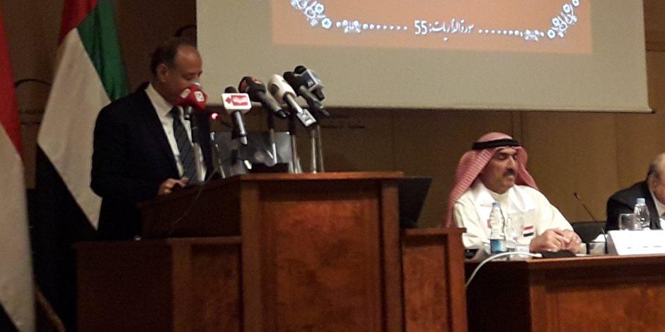 محافظ الإسكندرية: الشعب المصرى والإماراتى تربطهم علاقة قوية ليست من فراغ (صور)