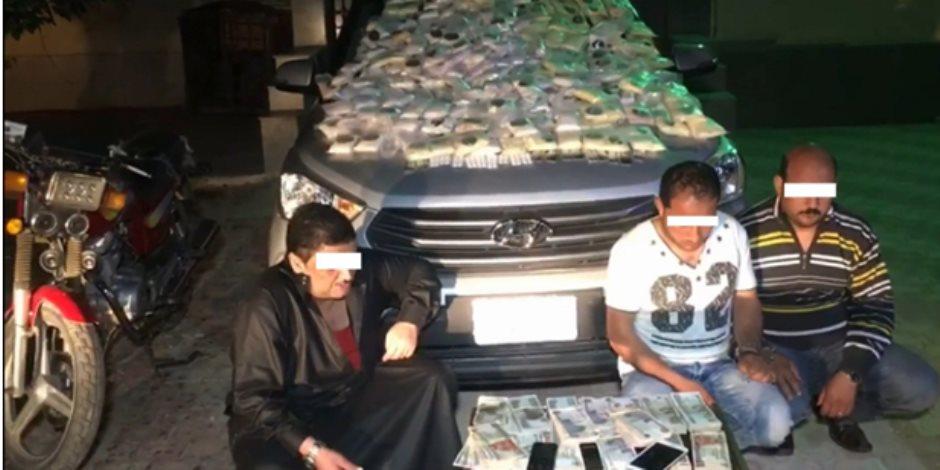 ضبط نص مليون قرص مخدر بحوزة ثلاث تجار مخدرات في الشرقية