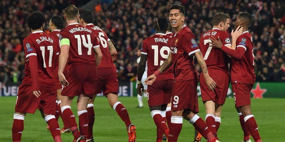 ليفربول يتقدم على أتالانتا بثنائية فى الشوط الأول بدورى الأبطال.. فيديو