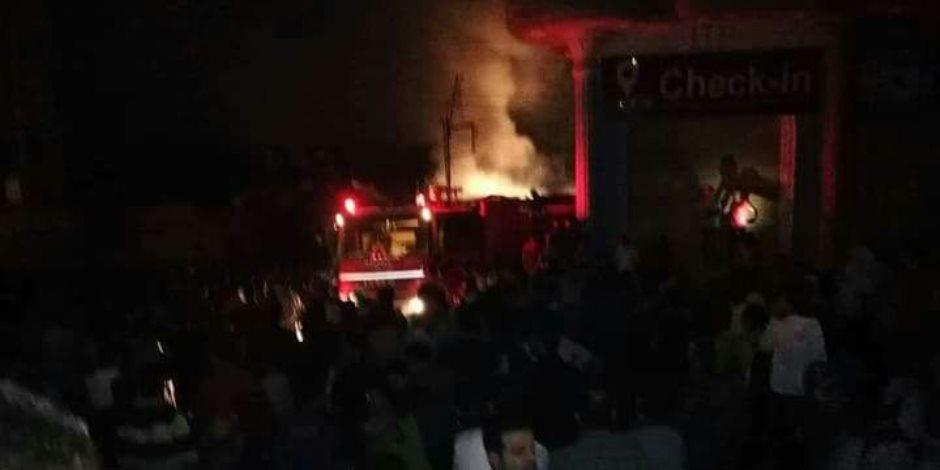 السيطرة على حريق بمزرعة دواجن في بني سويف