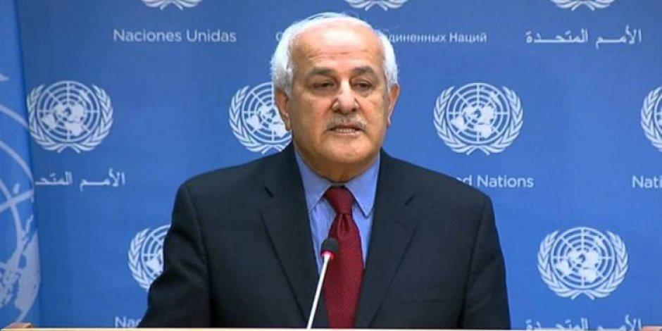 «سفيرة كذابة».. مندوب فلسطين بالأمم المتحدة يتحدث عن نيكي هيلي