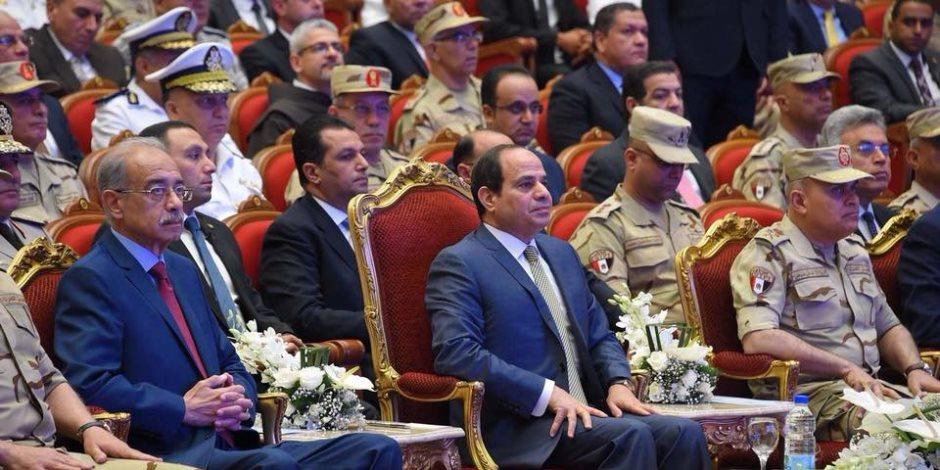 السيسى يشيد بتطور العلاقات الثنائية بين مصر وقبرص