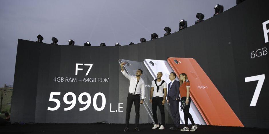 OPPOتطلق هاتفF7 في الأسواق المصرية بكاميرا أمامية25-ميجابكسل بخاصية الذكاء الإصطناعي